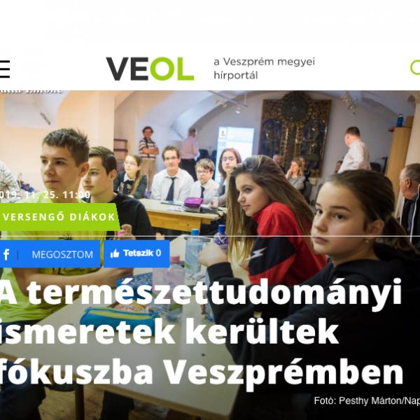 Screenshot_2020-08-28 A természettudományi ismeretek kerültek fókuszba Veszprémben VEOL